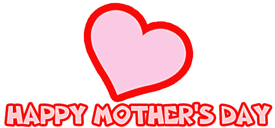 Mother's Day Heart Clip Art