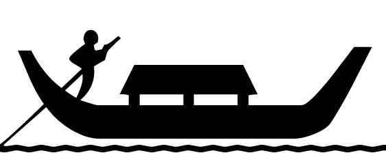gondola_boat.jpg - All Free Original Clip Art