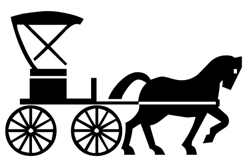 Horse Drawn Carriage Clipart Horse Drawn Carriage Clipart